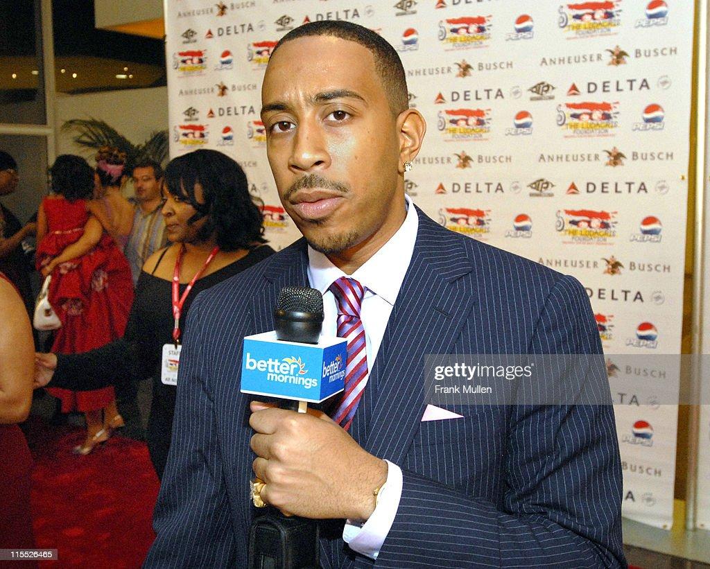 Chris 'Ludacris' Bridges during Karma: The 4th Annual Ludacris Foundation Dinner & Casino Night - Arrivals at Atlanta Apparel Mart in Atlanta, Georgia, United States.