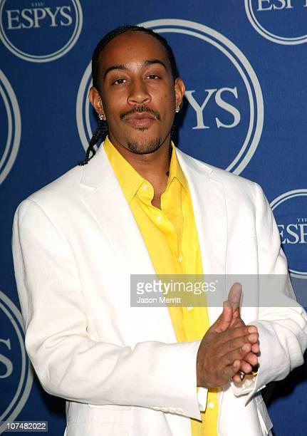 Chris 'Ludacris' Bridges presenter during 2006 ESPY Awards Press Room at Kodak Theatre in Los Angeles California United States