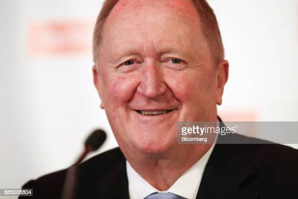 Chris Lynch chief financial officer of Rio Tinto Group attends an investor seminar in Sydney Australia on Monday Dec 4 2017 Rio Tinto named industry...