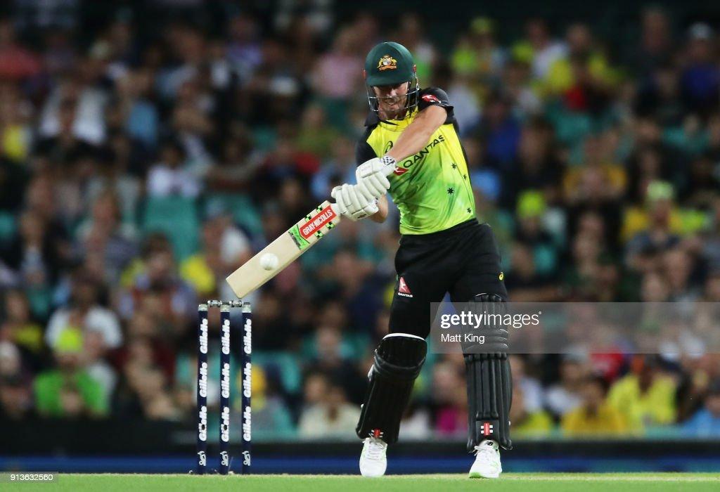 Australia v New Zealand - T20 Game 1 : News Photo