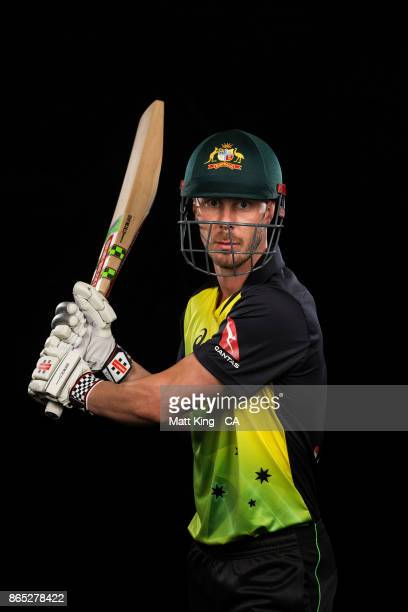 Chris Lynn of Australia poses during the Australia cricket team portrait session at Intercontinental Double Bay on October 15 2017 in Sydney Australia