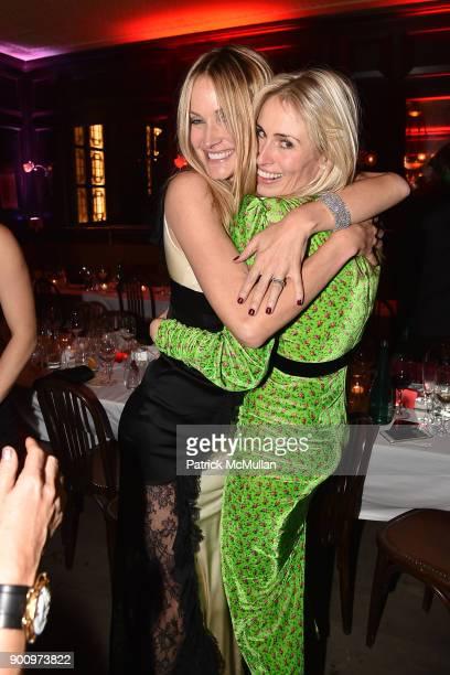 Chris Mack and Carola Jain attend Julie Macklowe's 40th birthday Spectacular at La Goulue on December 19 2017 in New York City