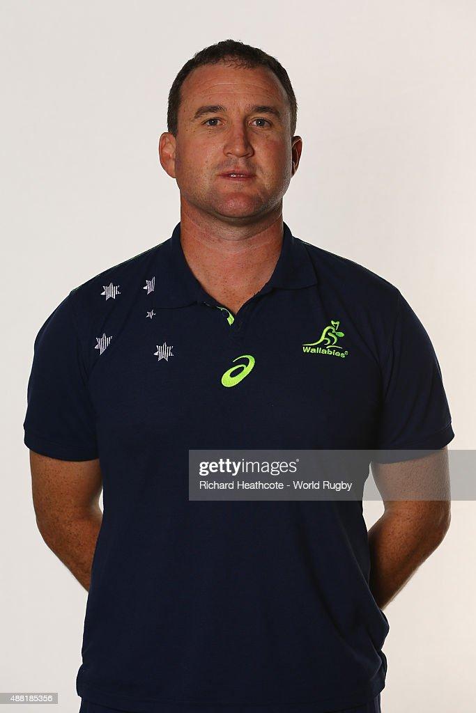 Australia - RWC 2015 Portraits