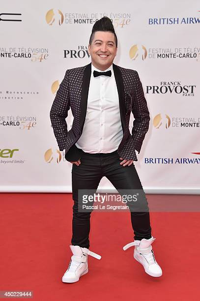 Chris Marques arrives at the opening ceremony of the 54th Monte-Carlo Television Festival on June 7, 2014 in Monte-Carlo, Monaco.
