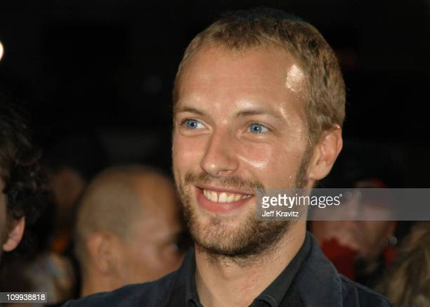 Chris Martin during 2003 MTV Video Music Awards Arrivals at Radio City Music Hall in New York City New York United States
