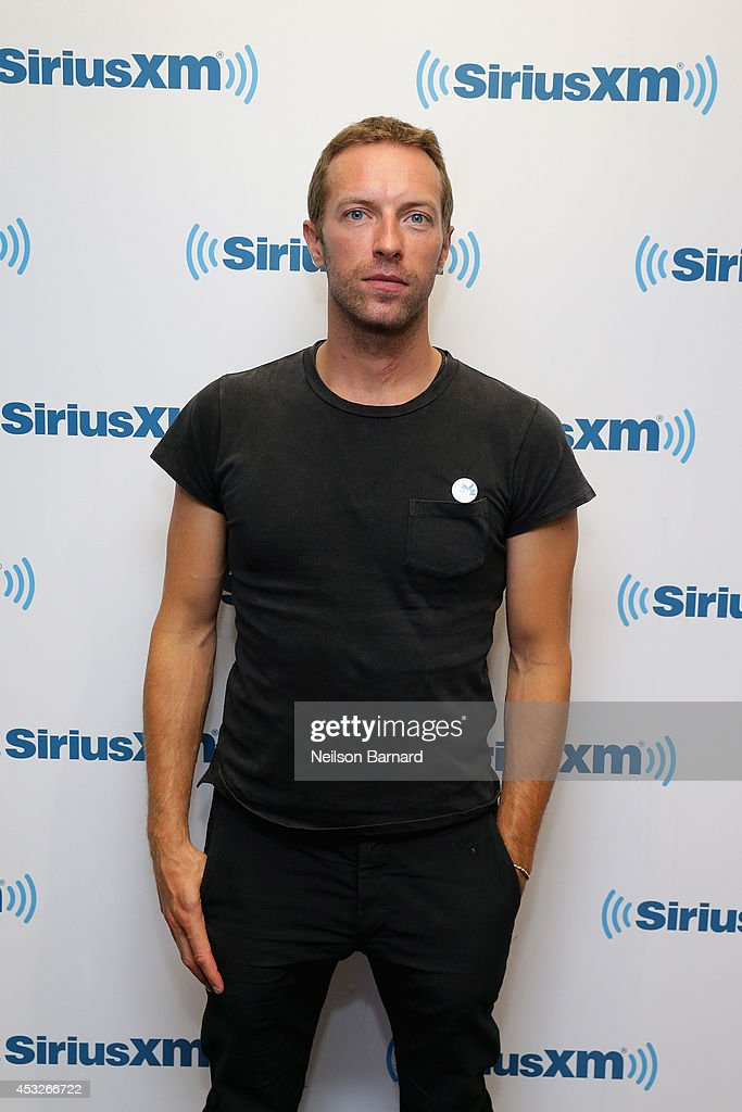 Chris Martin Of Coldplay Performs For SiriusXM's Artist Confidential Series In The SiriusXM Studios