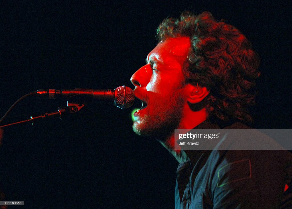 chris martin of coldplay during kroq almost acoustic christmas 2005 day 2 show at - Kroq Christmas