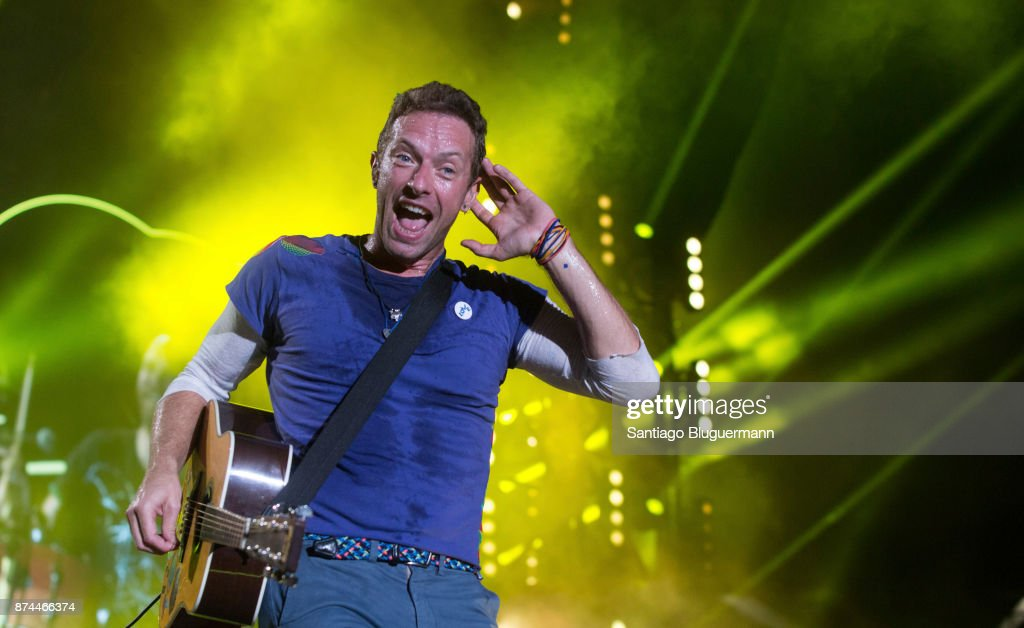 Coldplay Concert In Argentina : News Photo