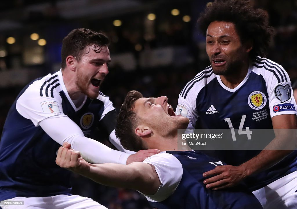 Scotland v Slovenia - FIFA 2018 World Cup Qualifier