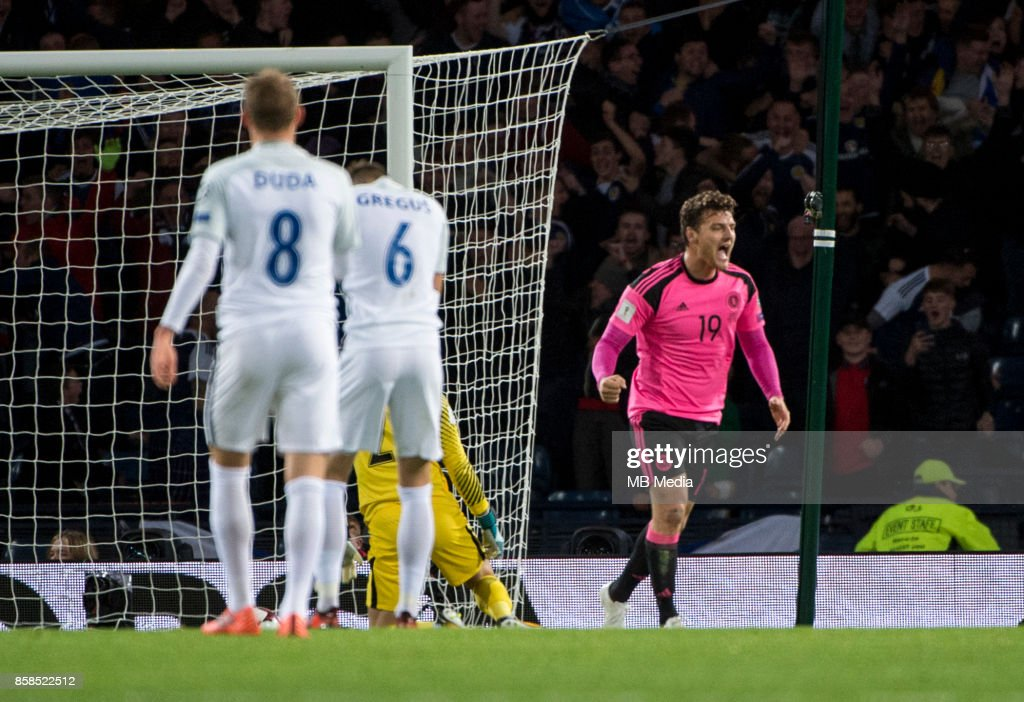 Scotland v Slovakia - FIFA 2018 World Cup Qualifier : News Photo
