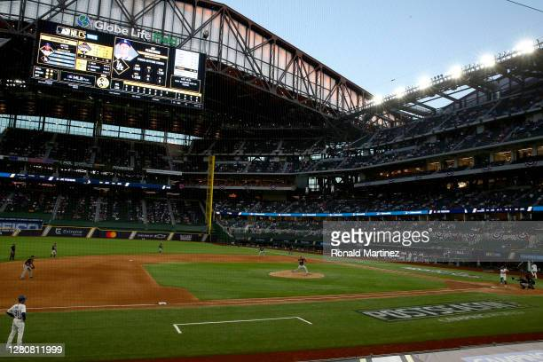 Chris Martin of the Atlanta Braves pitches to Joc Pederson of the Los Angeles Dodgers during the eighth inning in Game Six of the National League...