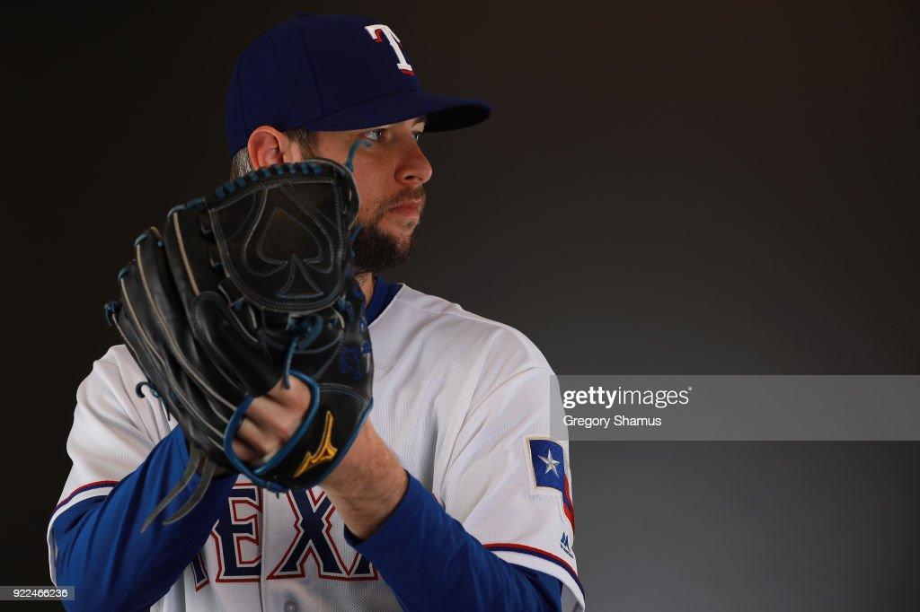 Texas Rangers Photo Day : Nachrichtenfoto