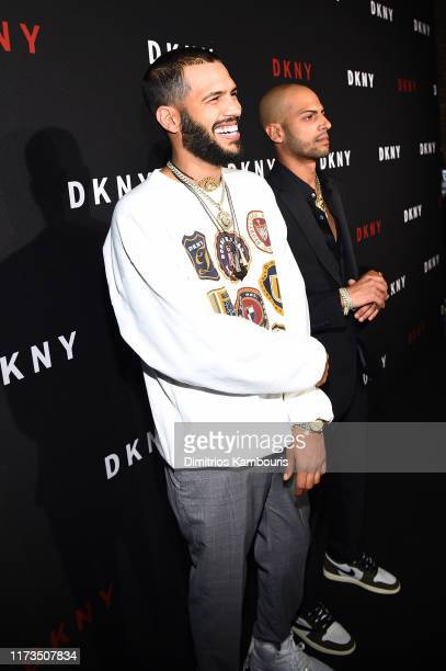 Chris Martinez and Stevie Martinez Jr of The Martinez Brothers attend as DKNY turns 30 with special live performances by Halsey and The Martinez...