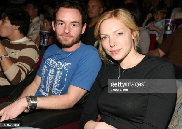 "Chris Masterson and Laura Prepon during 2006 Newport Beach Film Festival - ""Intellectual Property"" Screening at Island Cinemas in Newport Beach,..."