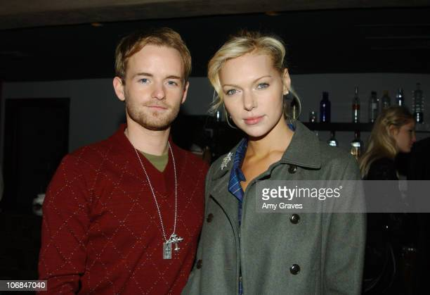 Chris Masterson and Laura Prepon during Good Art Hollywood Trunk Show Hosted by Danny Masterson and Chris Masterson with Laura Prepon at Geisha House...