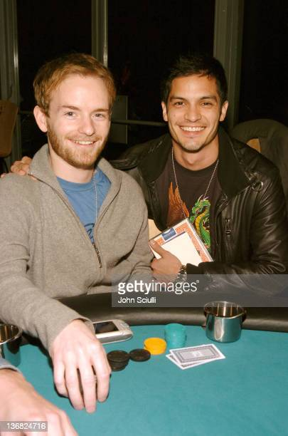 Chris Masterson and Nicholas Gonzalez during 2005 Spring HD Expo at LA Center Studios in Los Angeles California United States