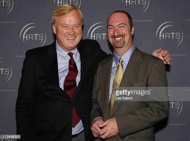Chris Matthews and Dave Ferrara executive director of HRTS