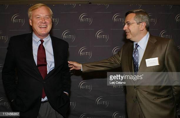 Chris Matthews and Tony Vinciquerra president/CEO Fox Networks Group