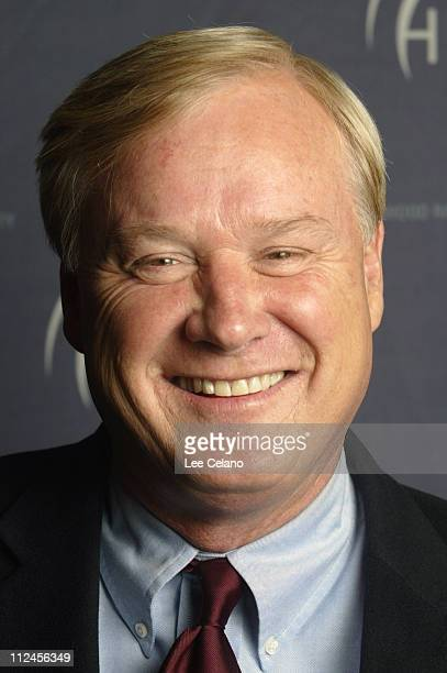 Chris Matthews during Hollywood Radio and Television Society's State of the Industry Newsmaker Luncheon at Beverly Hilton Hotel in Beverly Hills...