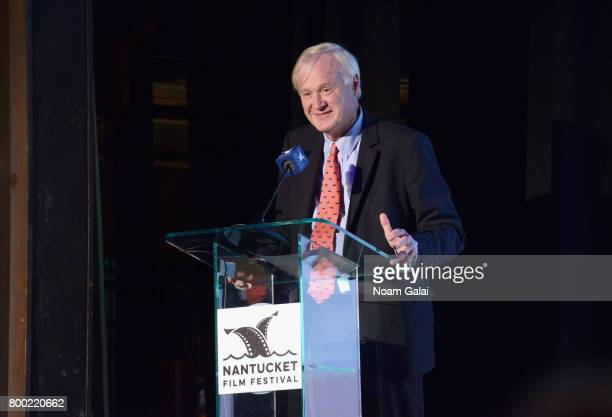 Chris Matthews speaks onstage during the Screenwriters Tribute during the 2017 Nantucket Film Festival Day 3 on June 23 2017 in Nantucket...