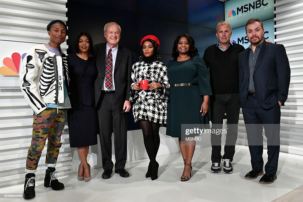 "MSNBC's ""Hardball with Chris Matthews"" - Cast of Hidden Figures"