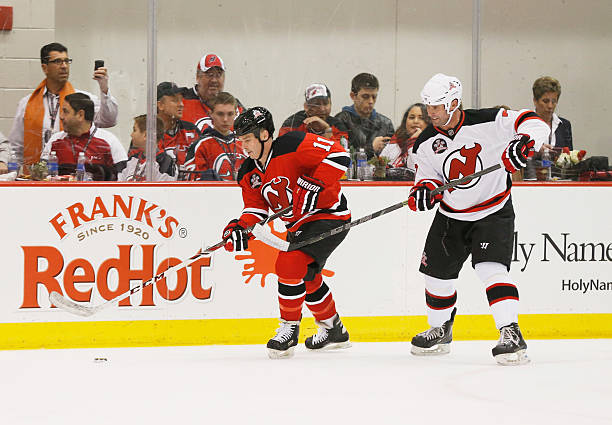 246a4cba6 New Jersey Devils 1995 Stanley Cup Championship Reunion Charity Game ...