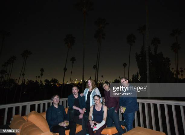 Chris McCarron Evan Cranley Amy Millan Patrick McGee Chris Seligman and Torquil Campbell of Stars at Hollywood Forever on November 30 2017 in...