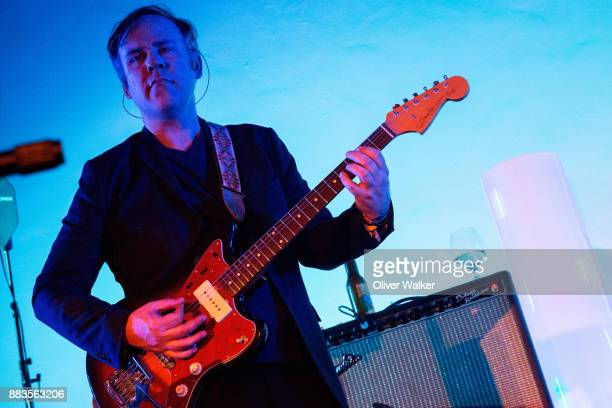 Chris McCarron of Stars performs at Hollywood Forever on November 30 2017 in Hollywood California