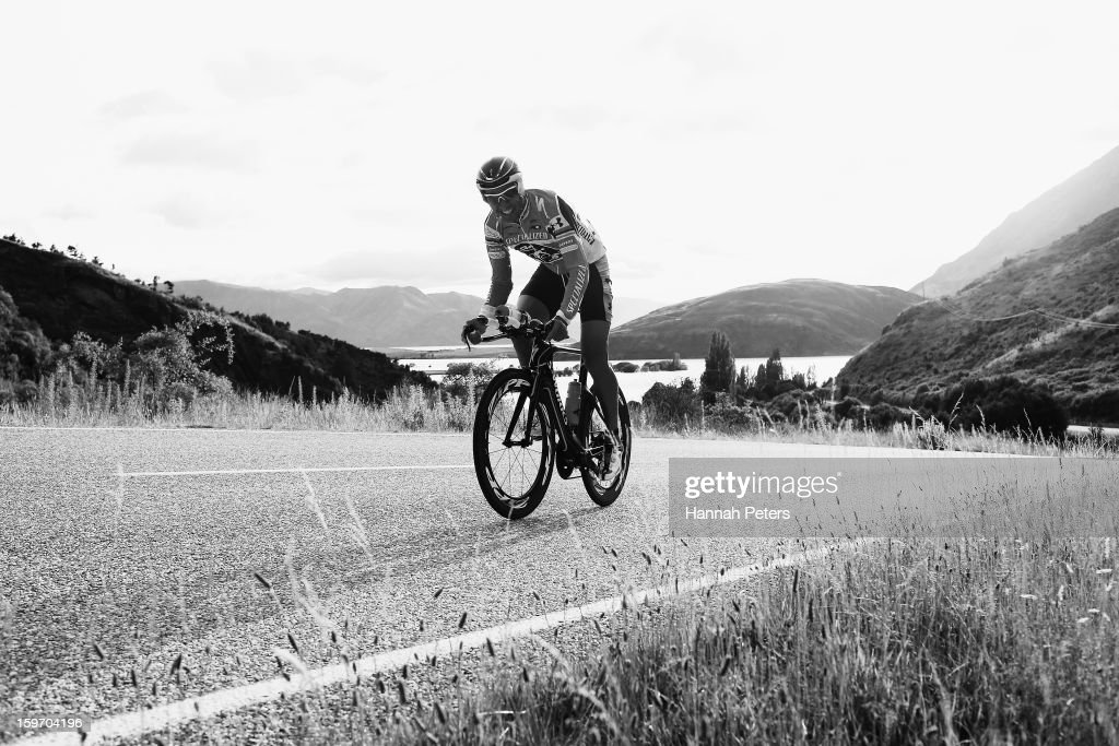 Chris McCormack of Australia competes in the Challenge Wanaka on January 19, 2013 in Wanaka, New Zealand.
