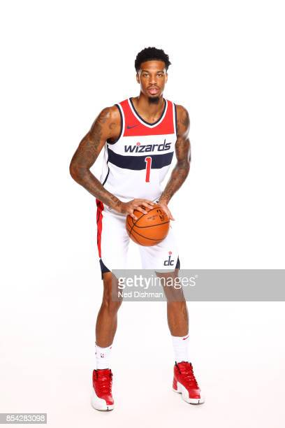 Chris McCullough of the Washington Wizards poses for a portrait during Media Day on September 25 2017 at Capital One Center in Washington DC NOTE TO...