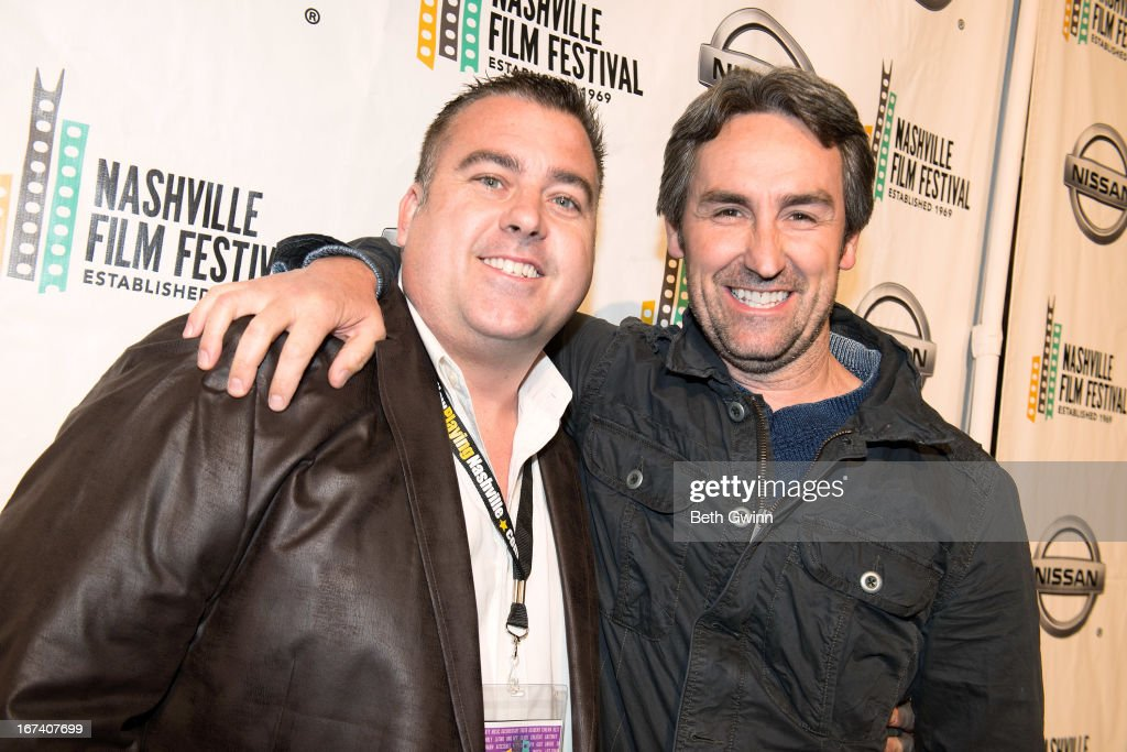 Chris McDaniel and Mike Wolfe attend the 2013 Nashville film festival at Green Hills Regal Theater on April 24, 2013 in Nashville, Tennessee.
