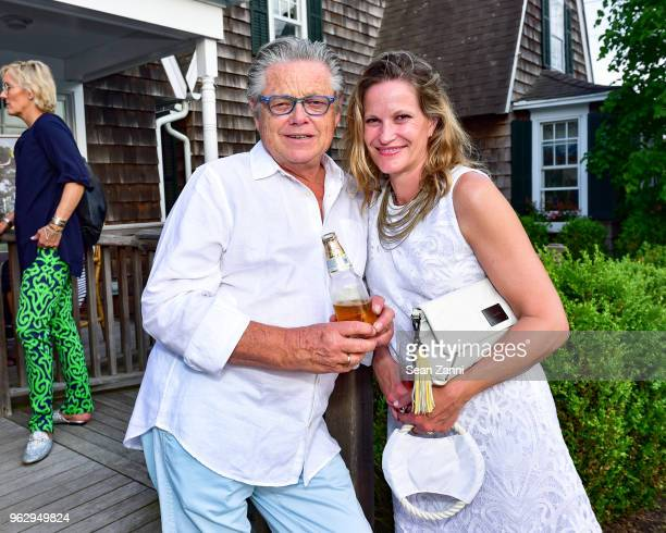 Chris Mead and Tamara Fraser attend ARF Thrift Shop Designer Show House Sale at ARF Thrift Treasure Shop on May 26 2018 in Sagaponack New York
