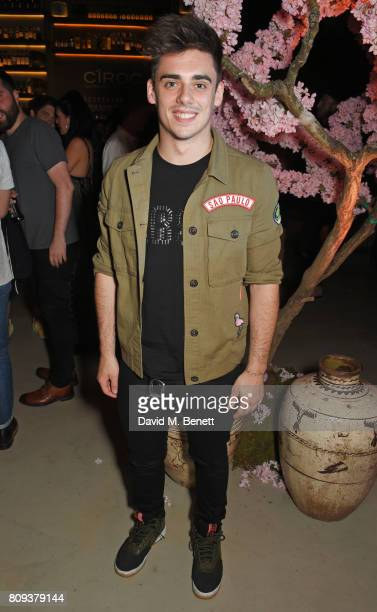 Chris Mears attends the Warner Music Group and British GQ Summer Party in partnership with Quintessentially at Nobu Hotel Shoreditch on July 5 2017...