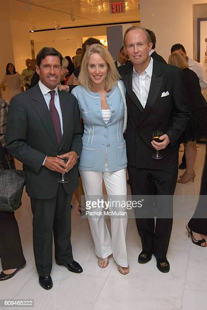 Chris Meigher Amy Hoadley and Mark Gilbertson attend SHERLE WAGNER Celebrates Grand Opening of Flagship Showroom at Sherle Wagner Showroom on June 7...