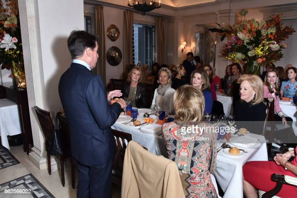 Chris Meigher attends QUEST VHERNIER Host Luncheon at MAJORELLE at Majorelle on October 17 2017 in New York City