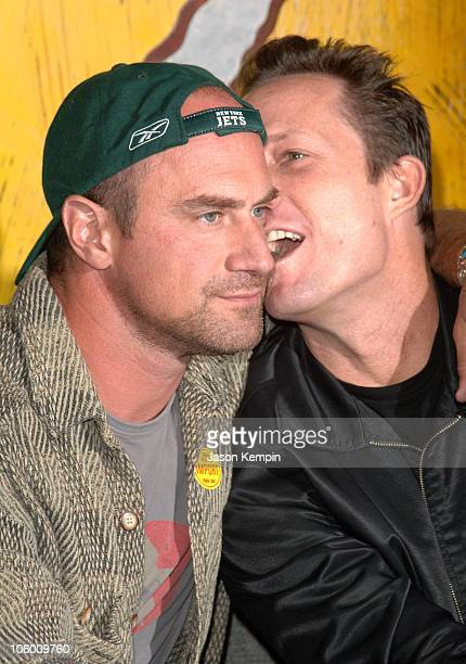 Chris Meloni and Dean Winters during DVD Signing of the Sixth Season of HBO's OZ September 5 2006 at Tower Records Lincoln Center in New York City...