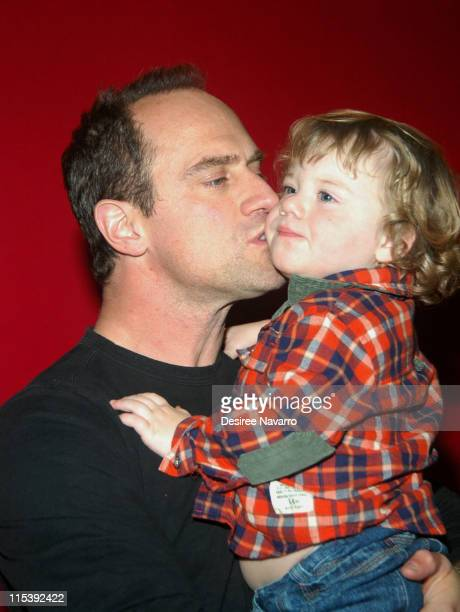 Chris Meloni and son Dante during 2005 Big Apple Circus Opening Night Gala Benefit at Damrosch Park Lincoln Center in New York City New York United...