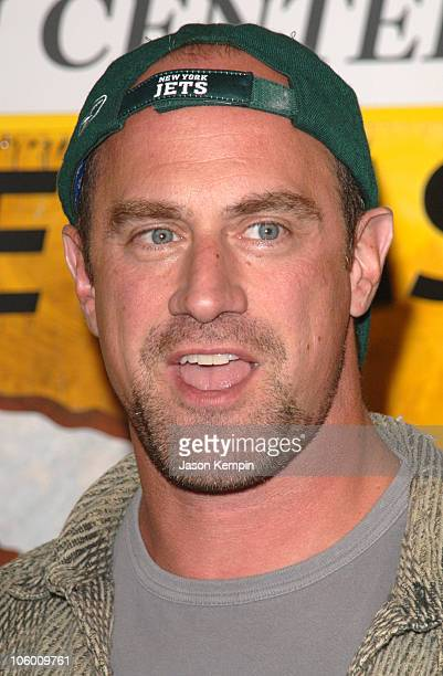 Chris Meloni during DVD Signing of the Sixth Season of HBO's OZ September 5 2006 at Tower Records Lincoln Center in New York City New York United...