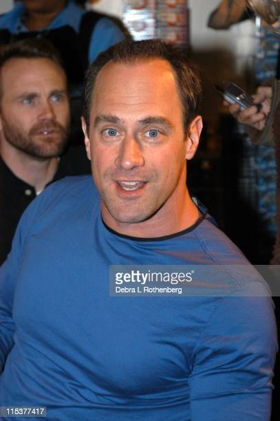 Chris Meloni who portrays Chris Keller during OZ The Complete Second Season box signing at Tower Records in New York NY United States