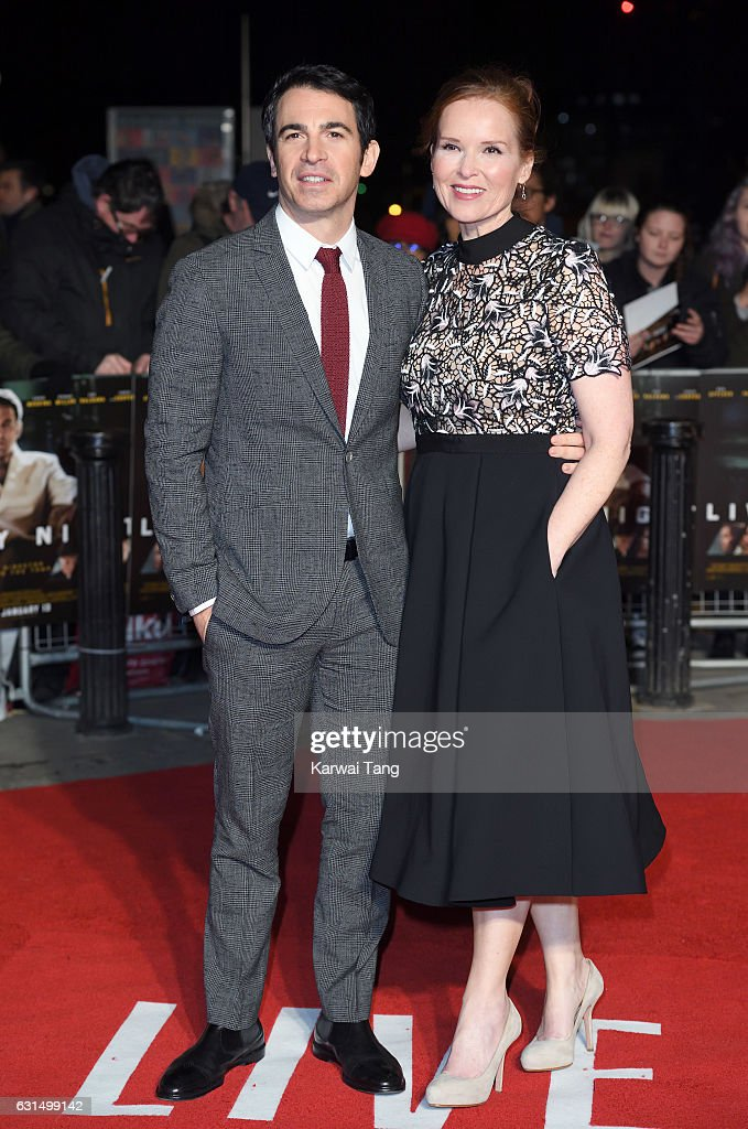 Chris Messina and Jennifer Todd attend the European Film Premiere of 'Live By Night' at The BFI Southbank on January 11, 2017 in London, United Kingdom.