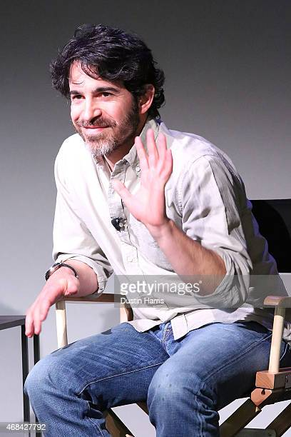 Chris Messina attends The Apple Store Soho Presents Meet the Filmmaker Chris Messina 'Alex of Venice' at Apple Store Soho on April 2 2015 in New York...