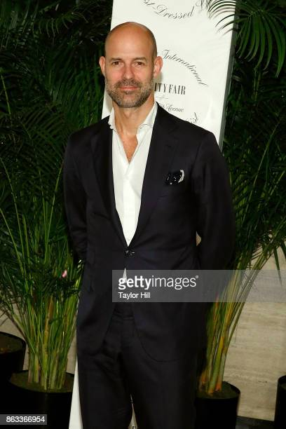 Chris Mitchell attends the Vanity Fair And Saks Fifth Avenue 2017 International BestDressed List Party at Academy Mansion on October 19 2017 in New...
