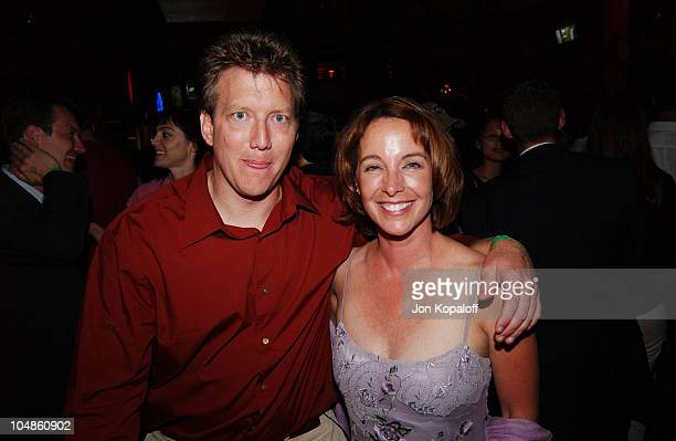 Chris Moore Kathleen Quinlan during World Premiere Of The Battle Of Shaker Heights After Party at Hard Rock Restaurant in Universal City California...