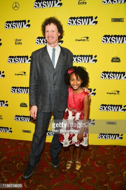 Chris Morris and Calah Lane attend the The Day Shall Come Premiere 2019 SXSW Conference and Festivals at Paramount Theatre on March 11 2019 in Austin...
