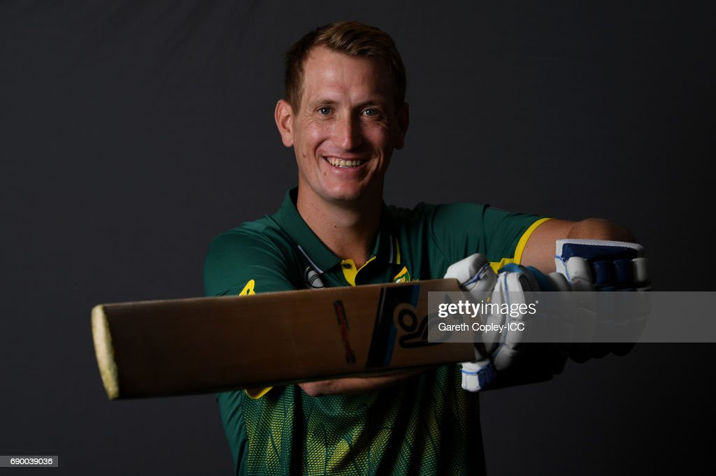 Chris Morris of South Africa poses for a portrait at Royal Garden Hotel on May 30, 2017 in London, England.