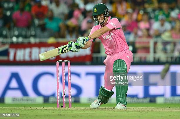 Chris Morris of the Proteas during the 4th Momentum ODI Series match between South Africa and England at Bidvest Wanderers Stadium on February 12...