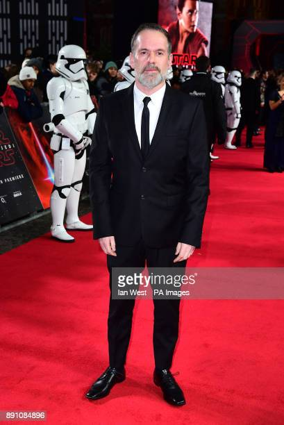 Chris Moyles attending the european premiere of Star Wars The Last Jedi held at The Royal Albert Hall London PRESS ASSOCIATION Photo Picture date...