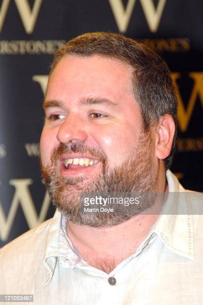 Chris Moyles during Chris Moyles The Gospel According to Chris Moyles The Saviour of Radio Unleashes Book Signing at Waterstones Bookstore in London...