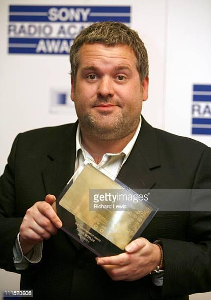 Chris Moyles winner of the Entertainment Award for Radio 1 Show