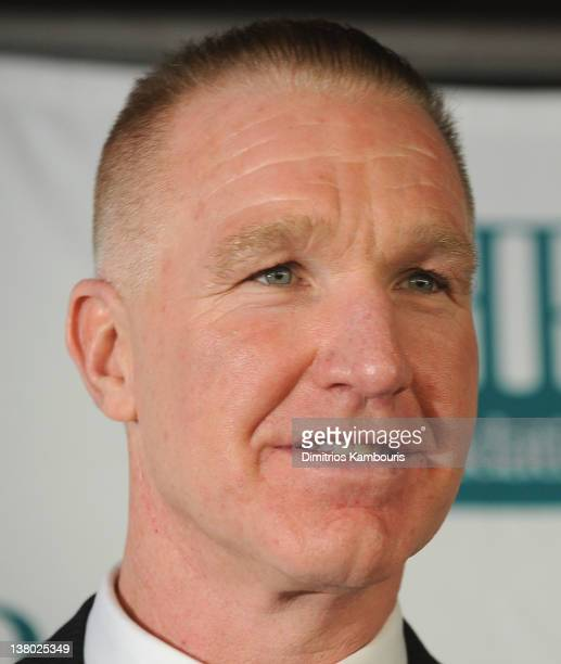 Chris Mullin attends the 32nd Annual Thurman Munson Awards at the Grand Hyatt on January 31 2012 in New York City